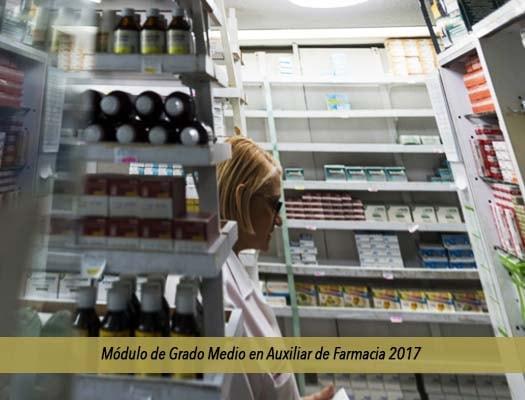 Módulo De Grado Medio En Auxiliar De Farmacia 2018 En