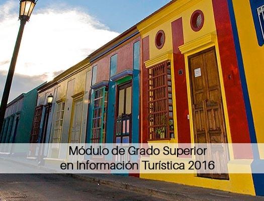 Módulo De Grado Superior En Información Turística 2018 En